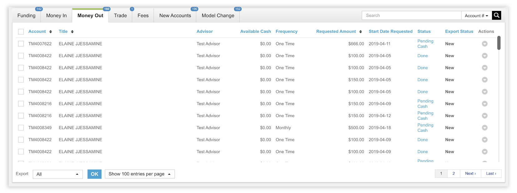AdvisorEngine Trading Rebalancing Module 4