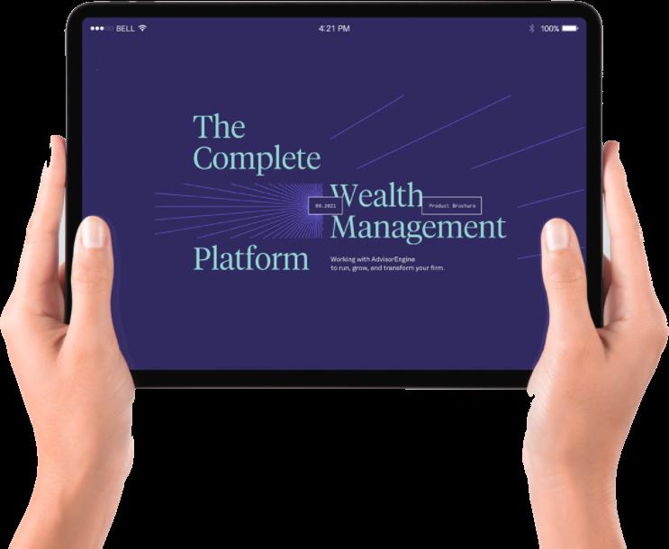 AdvisorEngine Wealth Management Technology - EBook