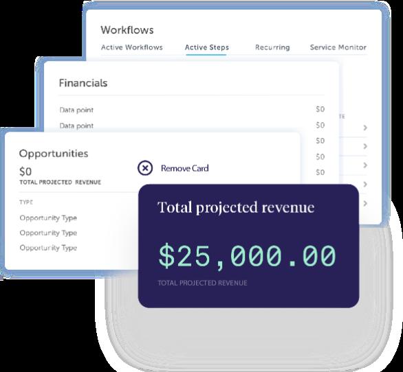 AdvisorEngine Wealth Management Technology - Junxure CRM Widgets