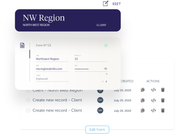 AdvisorEngine Wealth Management Technology - Junxure CRM Webforms