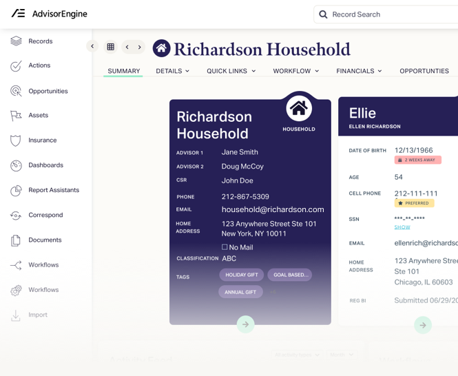 AdvisorEngine Wealth Management Technology - Client Portal Reporting