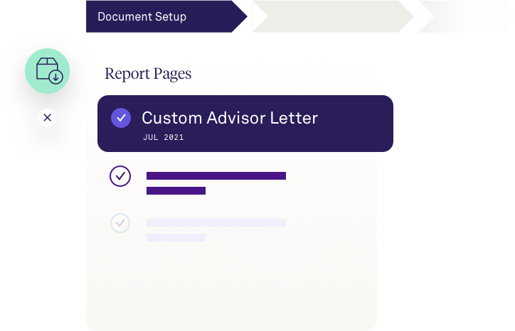 AdvisorEngine Wealth Management Technology Performance Reporting - Report Builder